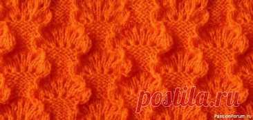 Узор «Цветочные корзинки» | Вязание спицами для начинающих Мастер-класс по вязанию узора спицами «Цветочные корзинки». Красивый объемный узор подходит для детского вязания, а так же для пуловеров и кофточек.Схема вязания узора «Цветочные корзинки»:Наши пояснения к видео уроку:Раппорт составляет 16 рядов и 18 петель.Кромочные петли вяжутся...