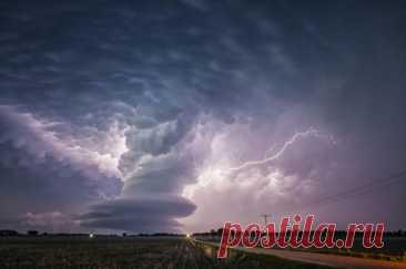 Las fotografías fantásticas de la tormenta y los relámpagos