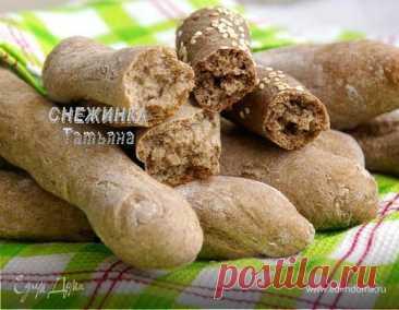 Как приготовить Хлебные палочки с льняной мукой (два варианта) Пошаговый рецепт с ингредиентами и фото