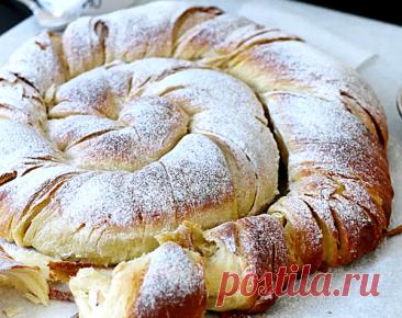 Друзья прислали рецепт: испанский пасхальный хлеб Энсаймада де Майорка (Ensaïmada de Mallorca) | ChocoYamma | Яндекс Дзен