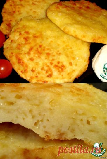 Кукурузные лепешки с сыром – кулинарный рецепт
