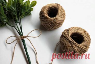 """8 интересных идей для вязания из джута - Блог интернет-магазина """"Мир Вышивки"""""""