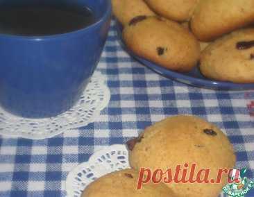 Творожное печенье с клюквой и овсяными хлопьями – кулинарный рецепт