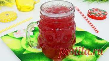 Русский кисель из замороженных ягод и крахмала, как у бабушки