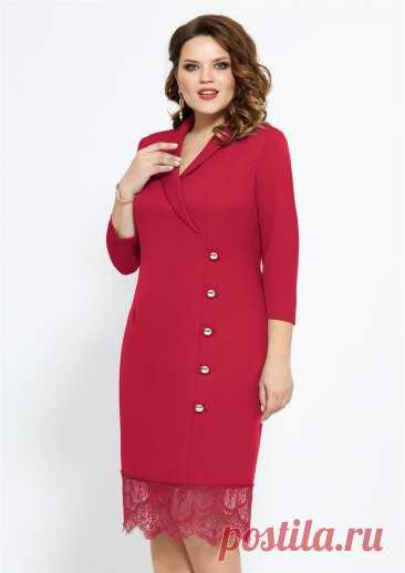 Платье Mira Fashion 4751-2 красный купить с доставкой по России | Интернет-магазин BelaRosso-shop.ru