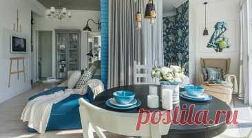 12 топовых приемов дизайнеров по оформлению гостиной-спальни (когда приходится совмещать) - Дом Mail.ru