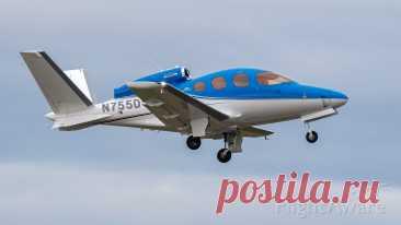 Фото Cirrus Vision SF50 (N755DS) - FlightAware
