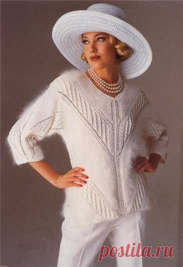 Beautiful pullover spokes