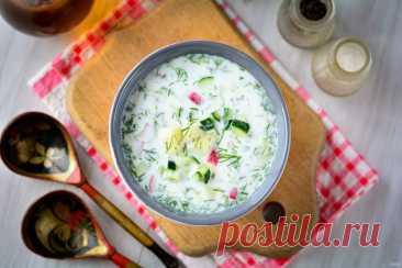 Топ-5 летних холодных супов