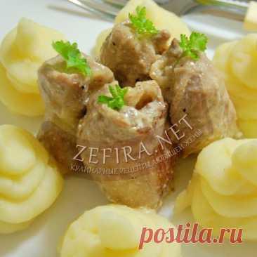 Мясные рулетики из свинины с начинкой Сочные рулетики из мяса станут отличным праздничным блюдом!