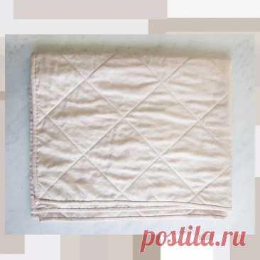 Как сшить простое стёганое одеяло: мастер-класс — Мастер-классы на BurdaStyle.ru