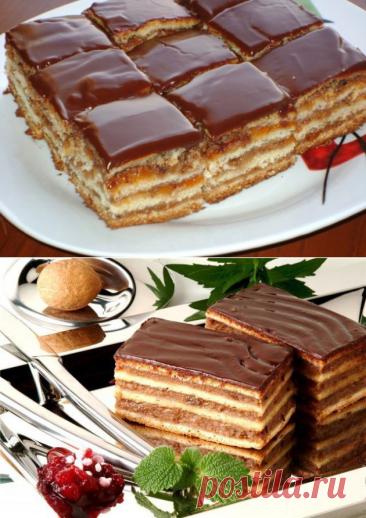 """Попробуйте это нежное праздничное пирожное """"Грета Гарбо"""" и вы не забудете этот вкус! - be1issimo.ru"""