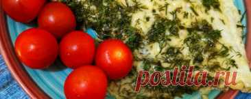 Омлет с грибами и сыром - Диетический рецепт ПП с фото и видео - Калорийность БЖУ
