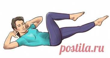 Одноминутные упражнения на растяжку, которые спасут вас от боли в спине