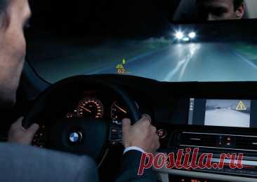 Как правильно ездить ночью на машине