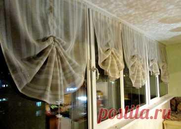 Простые и необычные шторы своими руками — Pro ремонт