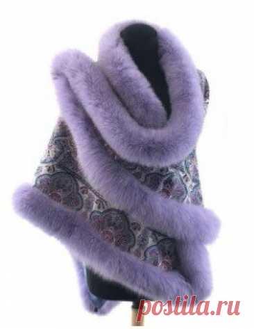 7 очаровательных и теплых платков с мехом для зимних вечеров  Впервые такой платок я увидела у Татьяны Тарасовой на шоу «Ледниковый период». Платок с мехом песца, который покрашен в тон платка позволяет создать шикарный … Читай дальше на сайте. Жми подробнее ➡