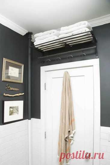 Идеи для хранения в маленькой ванной комнате: 11 советов и лайфхаков — Мастер-классы на BurdaStyle.ru