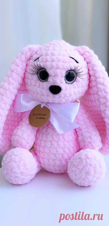 PDF Зайка Spring Bunny крючком. FREE crochet pattern; Аmigurumi animal patterns. Амигуруми схемы и описания на русском. Вязаные игрушки и поделки своими руками #amimore - заяц, плюшевый зайчик, кролик, зайчонок, зайка из плюшевой пряжи, крольчонок.