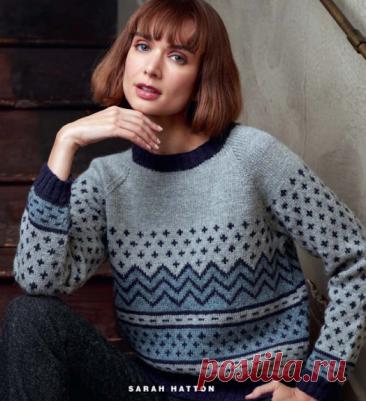 Как хорошо уметь вязать: Пуловер спицами...