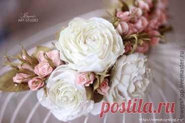 Знакомимся с Пластичной замшей или FoamIran (фоамиран, фом, фоам, EVA) и учимся делать 2 цветка из фоамирана