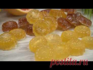 Всего за 5 минут ГОРА конфет Хоть из лимона, хоть из апельсина! Очень вкусно из ничего! - YouTube