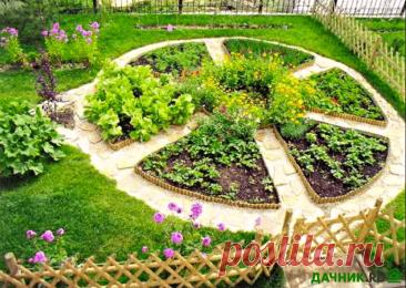 Виды грядок на огороде, советы по оптимальным размерам гряд   6 соток