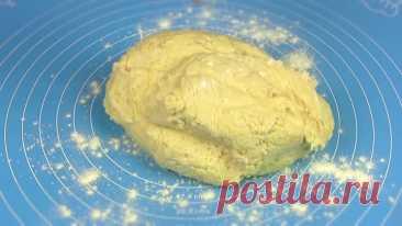 Рассыпчатое песочно-дрожжевое печенье