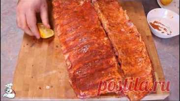 Очень вкусные свиные ребрышки в духовке / Oven Baked Ribs