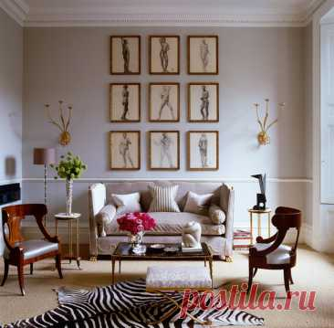 Ideas of registration of a drawing room on a photo: interiors in different styles | Admagazine | AD Magazine