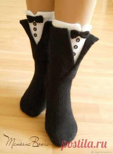 Носки от Татьяны Вьюги  Сообщество Люблю вязание- Вдохновляем на творчество! Вяжите вместе с нами!