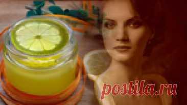 Омолаживающий эликсир с витаминами С и Е: кружок лимона в миндальное масло на сутки