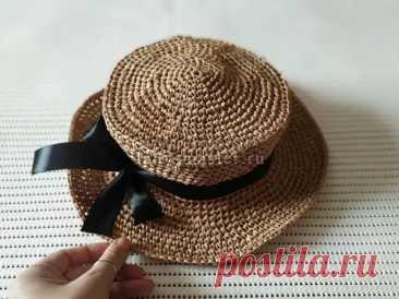 Модная летняя шляпка крючком - Сам себе мастер - медиаплатформа МирТесен
