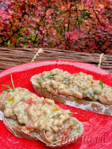 Флорентийские кростини с фасолью и розмарином – Вся Соль - кулинарный блог Ольги Баклановой