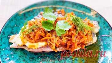 Рыба под маринадом - хек в томатном соусе | Такую рыбу хочется есть каждый день! Этот маринад сделает любую рыбу потрясающе вкусной! Такую рыбу хочется есть каждый день! Рыба под маринадом - хек в томатном соусе, с овощами. Очень вкусно, ...