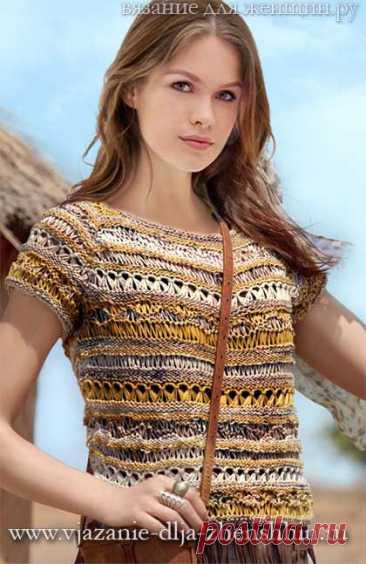 летние кофточки спицами вязание для женщин кофточки и топы