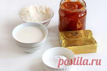 Рогалики на сметане и маргарине с повидлом — рецепт с фото пошагово + отзывы. Как приготовить печенье рогалики с начинкой в домашних условиях?