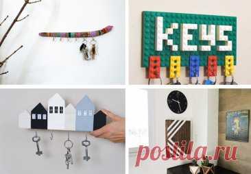 Пошаговые инструкции создания ключницы своими руками Расскажем как своими руками сделать ключницу на стену и покажем идеи для вдохновения.