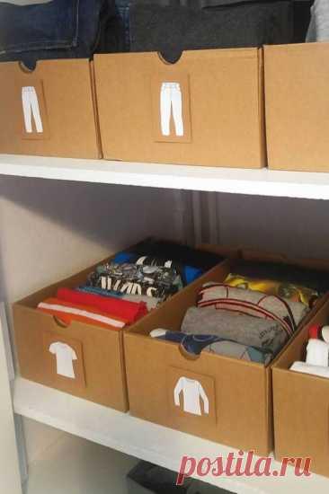 Как навести порядок в шкафу: 10 умных советов по эргономике | kitchendecorium.ru | Пульс Mail.ru