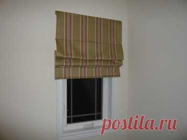 Шьём римские шторы своими руками