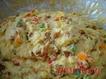 Alexandria dough rich (for Easter cakes and rolls)