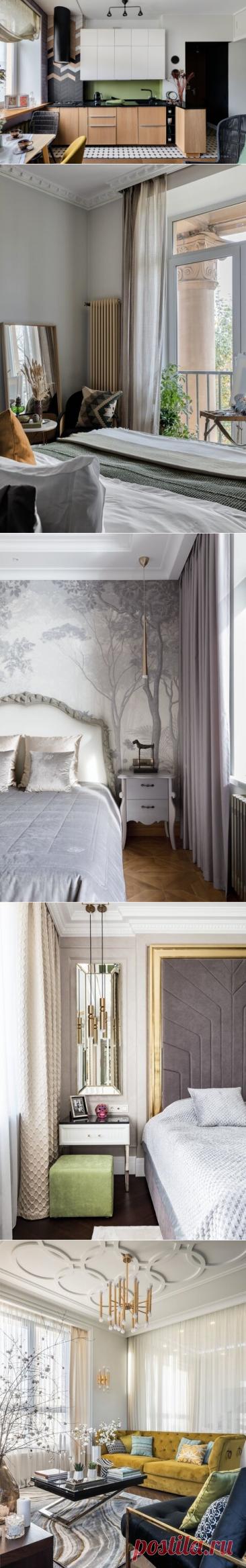 10 беспроигрышных идей для визуального увеличения маленькой квартиры | SALON-interior | Яндекс Дзен