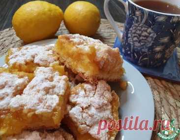 Венский пирог с лимонной начинкой – кулинарный рецепт