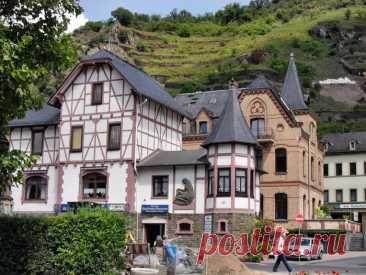 ДОЛИНА РЕЙНА- самое романтичное место Германии (часть 3)