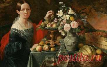 В чем фишка «Портрета неизвестной с цветами и фруктами»?