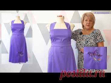Как украсить свое изделие. Вышивка на ткани для юбки или сарафана