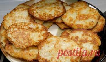 Картофельные деруны – никто не устоит!