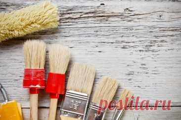 """Малярная кисть. Советы по выбору   Журнал """"JK"""" Джей Кей По типу щетины кисти делятся на синтетические, натуральные и комбинированные. Для покрытия изделий лаками, антисептиками и масляными красками лучше использовать"""