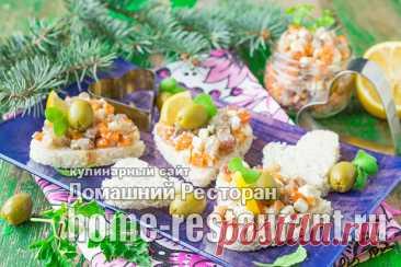 Бутерброды из селедки с плавлеными сырками, рецепт с фото