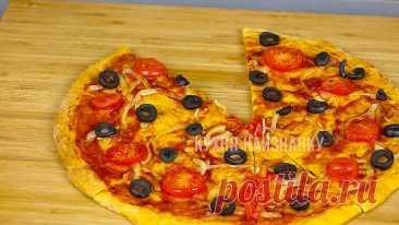Тесто для пиццы - три рецепта! Главный секрет идеального теста!